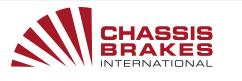 Logo Chassis Brakes International